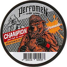 Парфумерія, косметика Помада для укладання волосся - Perfomen Wild Series Champion Pomade