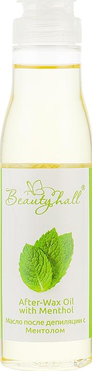 Масло после депиляции с ментолом - Beautyhall After-Wax Oil With Menthol