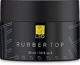 Духи, Парфюмерия, косметика Верхнее покрытие для гель-лака - Leo Top Rubber