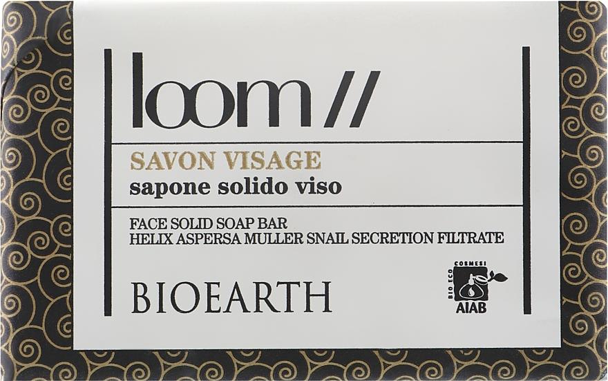 Мыло для лица на растительной основе - Bioearth Loom Face Soap