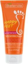 Парфумерія, косметика Пілінг для ступень і п'яток з натуральною пемзою - Bielenda Happy End Foot and Heel Scrub