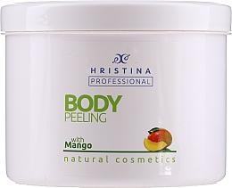 "Духи, Парфюмерия, косметика Пилинг для тела ""Манго"" - Hristina Professional 100% Natural Mango Body Peeling"