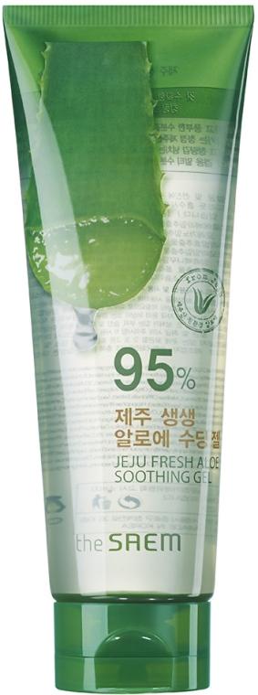 Гель с алоэ 95% - The Saem Jeju Fresh Aloe Soothing Gel 95%