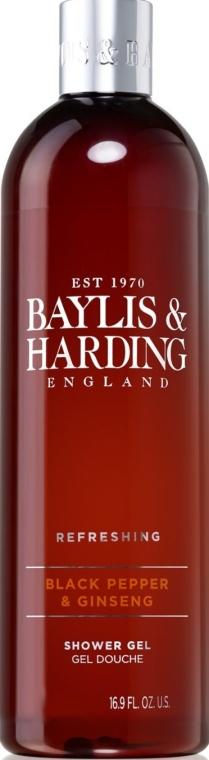Гель для душа - Baylis & Harding Black Pepper & Ginseng Shower Gel