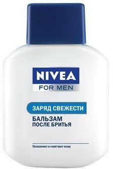 """Бальзам после бритья """"Заряд свежести"""" – Nivea For Men Post Shave Balm"""