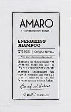 Духи, Парфюмерия, косметика Энергетический шампунь - FarmaVita Amaro Energizing Shampoo (пробник)