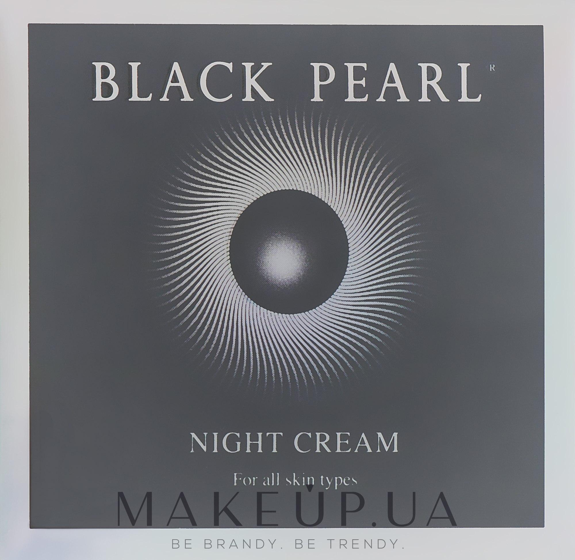 Ночной крем для лица против морщин - Sea Of Spa Black Pearl Age Control Anti-Wrinkle Night Cream For All Types Of Skin — фото 50ml