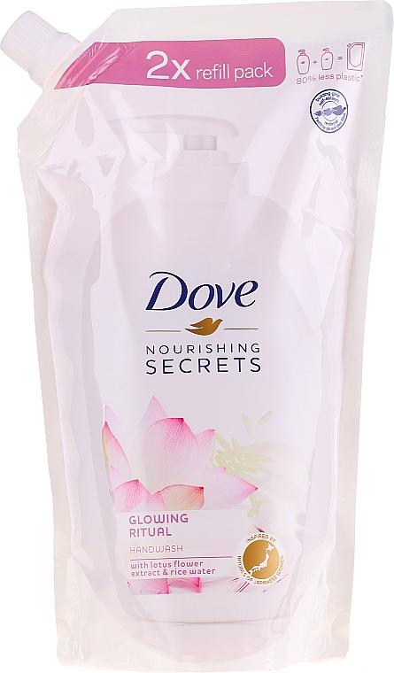 "Жидкое мыло для рук ""Цветок лотоса"" - Dove Nourishing Secrets Glowing Ritual Hand Wash (дой-пак)"
