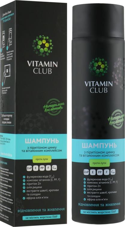 Шампунь против перхоти с пиритионом цинка и витаминным комплексом - VitaminClub
