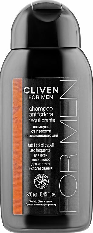Шампунь от перхоти восстанавливающий для всех типов волос - Cliven For Men