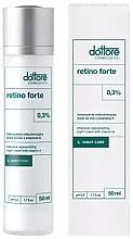 Духи, Парфюмерия, косметика Интенсивно восстанавливающий ночной крем с 0,3% витамином А - Dottore Retino Forte