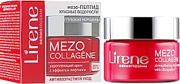 Духи, Парфюмерия, косметика Дневной крем для лица против морщин - Lirene Mezo Collagene