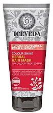 Духи, Парфюмерия, косметика Маска для волос - Iceveda Tundra Raspberry&Kerala Jasmine Color Shine Herbal Hair Mask