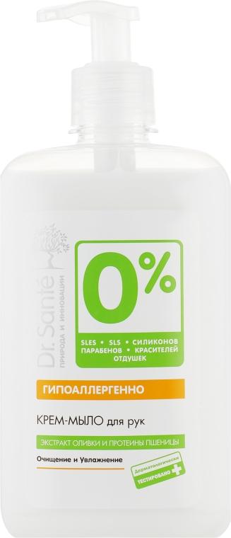 Крем-мыло для рук - Dr. Sante 0 Percent