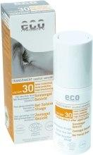 Духи, Парфюмерия, косметика Солнцезащитный гель для лица SPF 30 - Eco Cosmetics Gel Solarie Visage