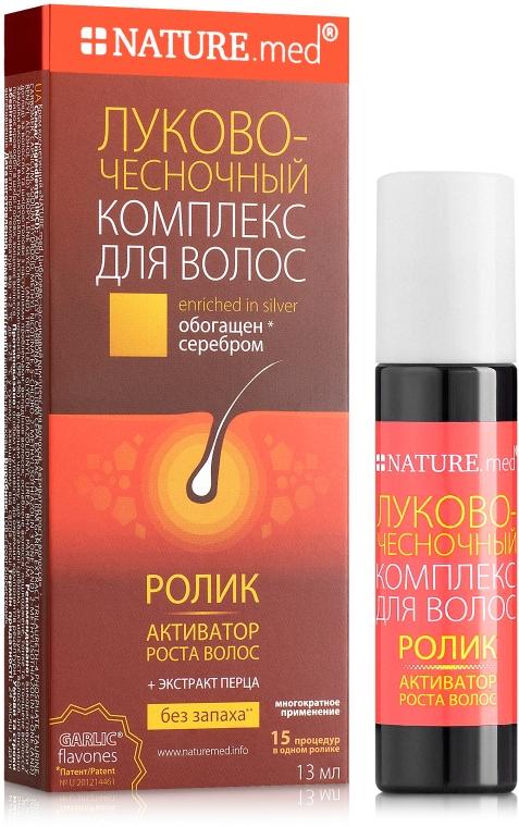 Луково-чесночный комплекс для волос. Активатор роста волос - NATURE.med