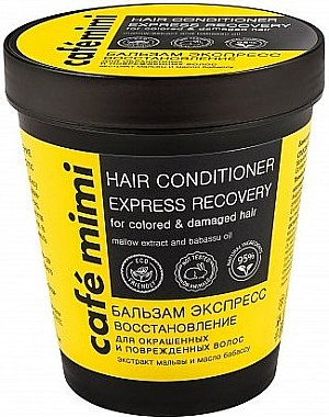 """Бальзам """"Экспресс Восстановление"""" для окрашенных и поврежденных волос - Cafe Mimi Hair Conditione Express Recovery"""