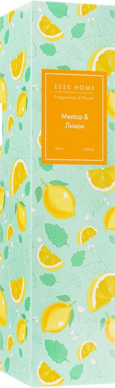 "Аромадиффузор ""Мелисса и лимон"" - ESSE Home Fragrance Diffuser"