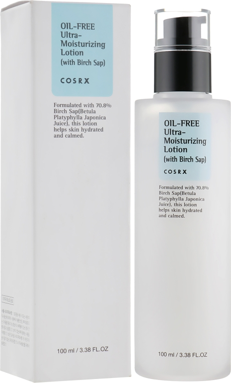 Увлажняющий лосьон без масел - Cosrx Oil-Free Ultra-Moisturizing Lotion with Birch Sap