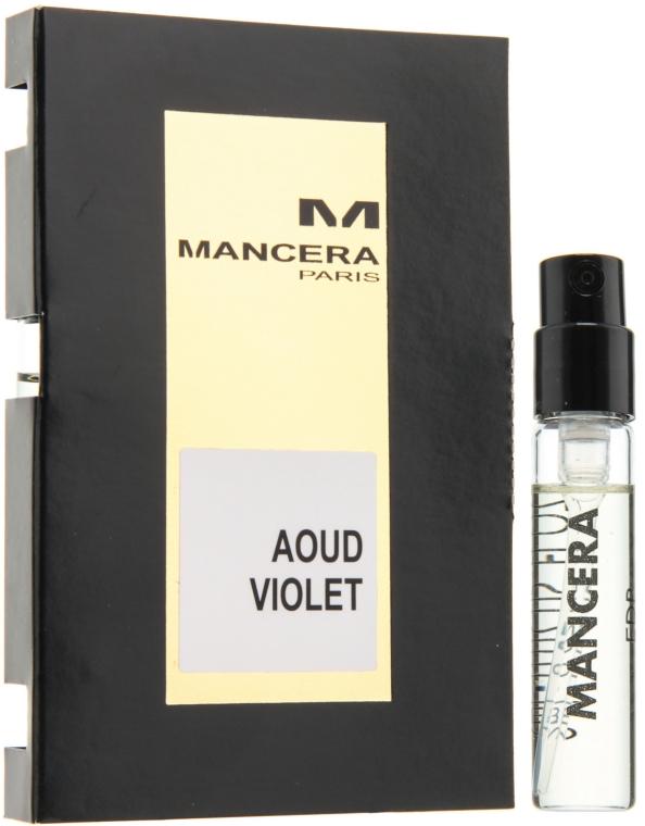Mancera Aoud Violet - Парфюмированная вода (пробник)