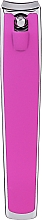 Духи, Парфюмерия, косметика Кусачки для ногтей большие, 499126, розовые - Inter-Vion