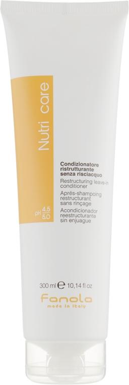 Несмываемый кондиционер для сухих волос - Fanola Restructuring Leave-In Conditioner