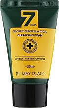 Духи, Парфюмерия, косметика Пенка для умывания - May Island 7 Days Secret Centella Cica Cleansing Foam (мини)