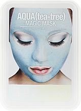 Духи, Парфюмерия, косметика Маска для лица с коллоидным золотом - Lindsay Luxury Aqua Tea-Tree Magic Mask