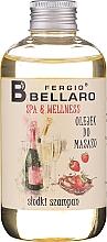 "Духи, Парфюмерия, косметика Массажное масло ""Шампанское"" - Fergio Bellaro Massage Oil Sweet Champagne"