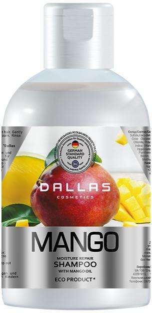 "Шампунь для волос ""Манго"" - Dallas Cosmetics Moisture Repair Shampoo"