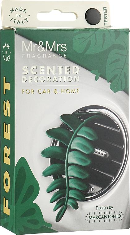 """Ароматизатор в машину с ароматом соснового леса """"Зеленый папоротник"""" - Mr&Mrs Forest Fern Pine Forest"""