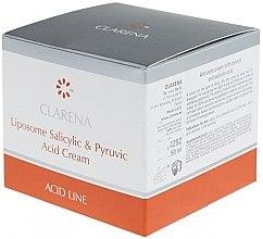 Крем с салициловой и пировиноградной кислотами - Clarena Liposome Pyruvic Acid Salicylic & Cream — фото N3