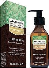 Духи, Парфюмерия, косметика Сыворотка для волос с кокосовым маслом - Arganicare Coconut Hair Serum For Dull, Very Dry & Frizzy Hair