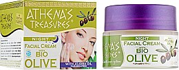 Духи, Парфюмерия, косметика Ночной питательный крем для лица с маслом жожоба - Pharmaid Athenas Treasures Bio Olive Night Facial Cream