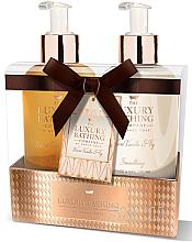 Духи, Парфюмерия, косметика Набор - Grace Cole The Luxury Bathing Warm Vanilla & Fig (h/cr/300ml+soap/300ml)