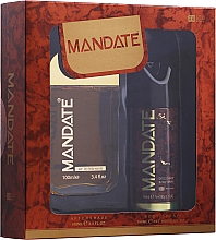 Духи, Парфюмерия, косметика Eden Classic Mandate - Набор (aftershave/100 ml + b/spray 150 ml)