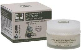Духи, Парфюмерия, косметика Крем для области вокруг глаз от морщин с диктамелией, витаминами Е и К - BIOselect Anti-Wrinkle Eye Cream