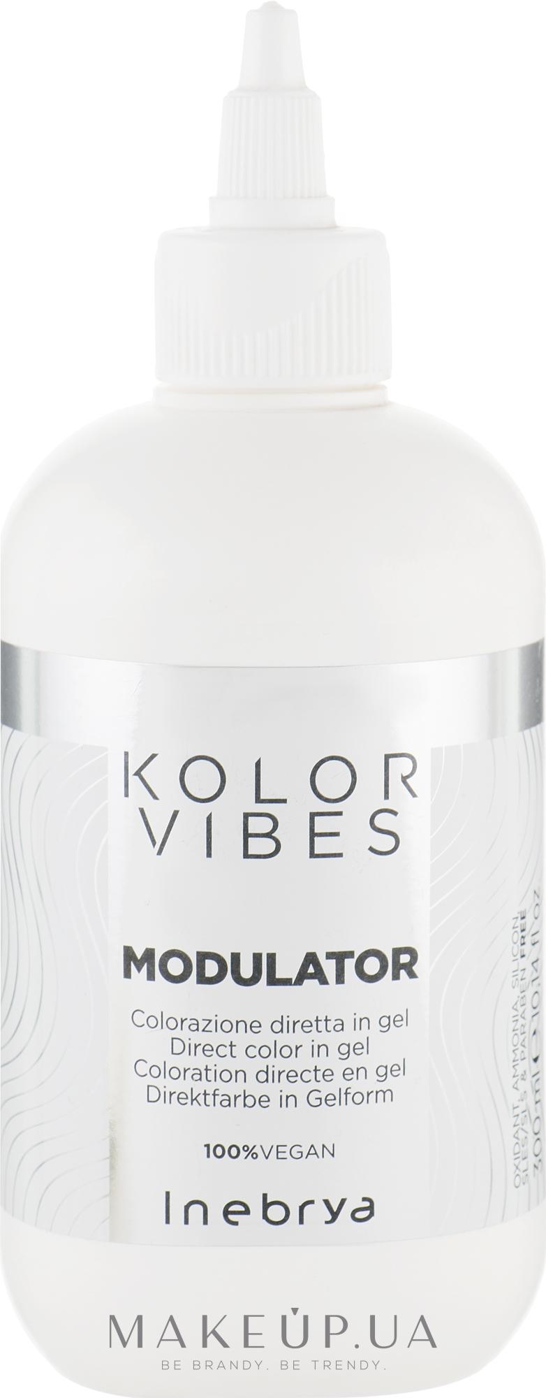 Окрашивающий гель для волос - Inebrya Kolor Vibes Modulator — фото 300ml