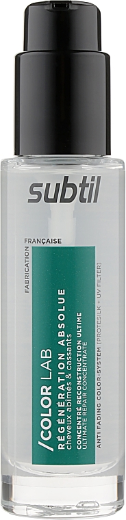 Концентрированная сыворотка для волос - Laboratoire Ducastel Subtil Color Lab Ultimate Repair Concentrate Serum