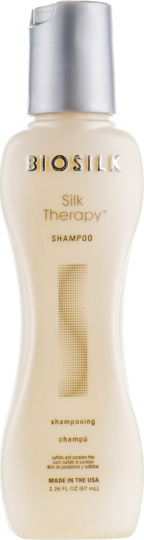 "Шампунь ""Шелковая терапия"" - BioSilk Silk Therapy Shampoo"