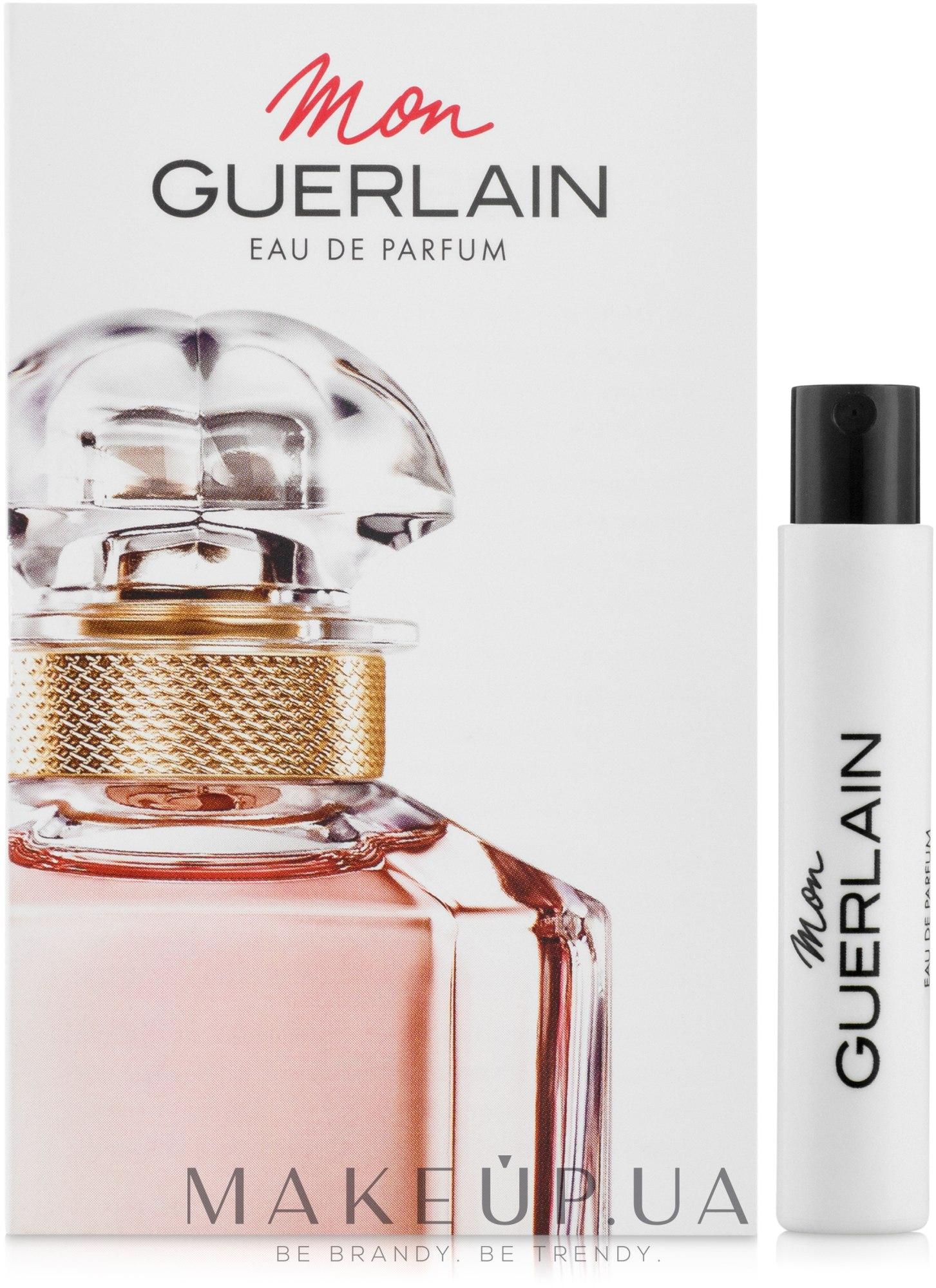 Makeup отзывы о Guerlain Mon Guerlain парфюмированная вода пробник