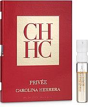 Духи, Парфюмерия, косметика Carolina Herrera CH Privée - Туалетная вода (пробник)