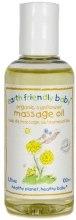 Духи, Парфюмерия, косметика Масло массажное с подсолнухом - Earth Friendly Baby Organic Gold Massage Oil