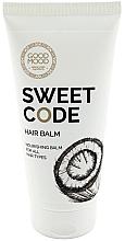Духи, Парфюмерия, косметика Питательный бальзам для волос с кокосовым маслом - Good Mood Sweet Code Hair Balm