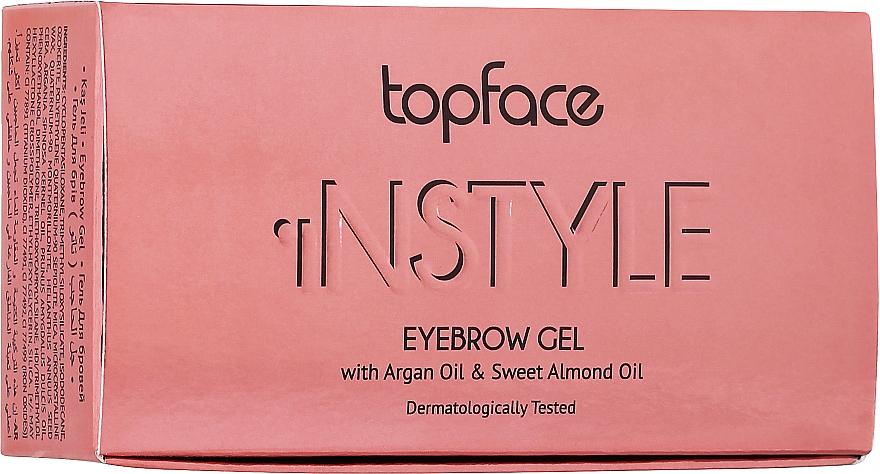 Гель для бровей - Topface Instyle Gel
