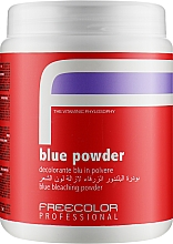 Духи, Парфюмерия, косметика Обесцвечивающая пудра для волос - Oyster Cosmetics Freecolor Blue Powder