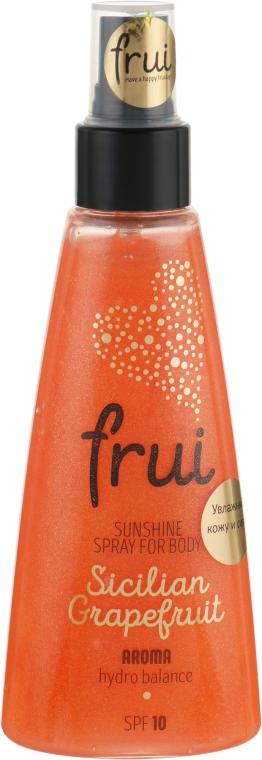 """Сияющий арома-спрей с увлажнением """"Сицилийский грейпфрут"""" - Frui Sunshine Spray For Body Sicilian Grapefruit"""
