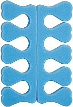 Духи, Парфюмерия, косметика Набор сепараторов для педикюра PF-15, синий - Puffic Fashion