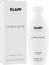 Духи, Парфюмерия, косметика Базовая очищающая эмульсия - Klapp Clean & Active Cleansing Lotion