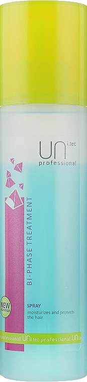 Спрей для волос увлажняющий с УФ-фильтрами - UNi.tec Professional Bi-Phase Treatment